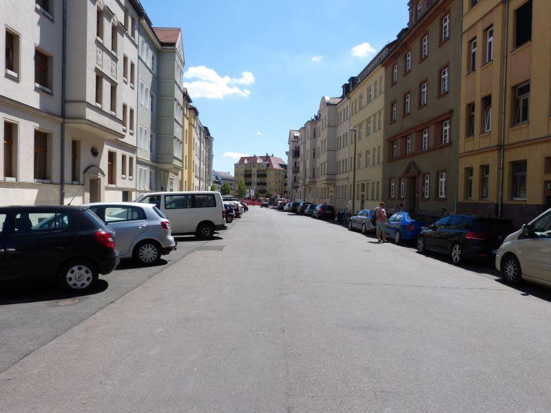 Blick in die Straße